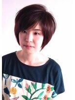 ヘアーカーブ(haircarve)haircarve春☆ミントアッシュブラウン・ショートボブ