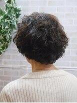 シフォン(Chiffon)ふんわりショートヘア