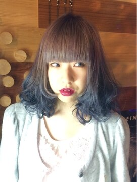 パーマネントガレージ(Parmanent Garage)パープル☆ブルー