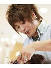 ヘアーアンドエステティック アイビジン 鈴鹿店(Hair&Esthetic I BiJiN)日高 健太