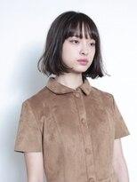 コクーン(Cocoon)【SHUN】前髪ぱっつん切りっぱなしボブ