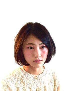 ヘアーカーブ(haircarve)haircarve★ノームコア・ボブ