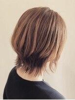 キートス ヘアーデザインプラス(kiitos hair design +)ボブウルフ
