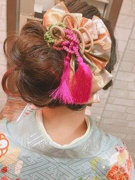 シュシュ(chou chou)卒業式、成人式のヘアセット