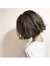 ヘアー サロン レイラン(Hair Salon REIRAN)外ハネボブ