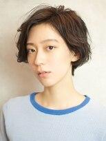 ベックヘアサロン 広尾店(BEKKU hair salon)前髪長めショートボブ☆毛先の動きで重すぎない印象に!