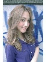 結婚式の【BALLOON HAIR】愛され美髪セミロング『透明感カラー』画像
