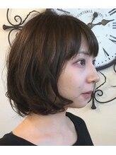 ヘアージン 野々市(hair Jin)プルプルボブ
