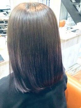ヘアステーションフラット(HAIR STATION FLAT)の写真/話題のOLAPLEX導入店!カラーやパーマと組み合わせることで髪へのダメージを最小限に◎極上の仕上がりへ♪
