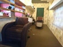 ヘアー デザイン グランツ くまなん店(Granz)の雰囲気(寝心地の良いベッドタイプと妊婦さんも安心イスタイプがあります)