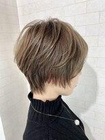 アルマヘア(Alma hair)ショートヘア☆グレージュ