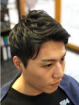 ヘアショップジャマー(Hair shop JAMMER)の写真/【泉中央駅徒歩10分】学生に嬉しいお手頃クーポンあり!【学割U24】カット+シェービング(SB込)¥2,700