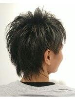 ヘアーリゾートラシックアールプラス(hair resort lachiq R+)《R+》メンズカット☆ウルフレイヤー