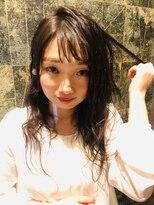 ヘアーサロンモンマ(MONMA)オルチャン前髪【韓国風アレンジ】