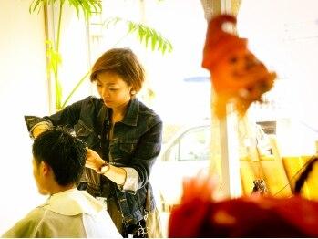 オッヂヘア(oggi hair)の写真/口コミが物語る丁寧なカウンセリング技術で圧倒的支持☆等身大のあなたを引き出すプライベートサロン♪