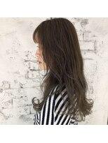 ヘアーエスクール 本店(hair S.COEUR)くすみカーキcolor