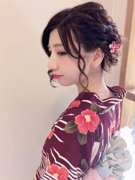 エルパティオ(EL PATIO)浴衣 成人式 卒業式 振袖 袴 ヘアアレンジ