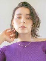 アース 四ツ谷店(HAIR&MAKE EARTH)前髪かき上げ大人女子スタイル