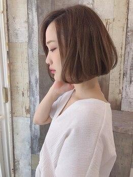 ミューズ 原店(MU-SE)の写真/【原】短い髪の方からロングの方まで様々な、お悩みヘアにご対応できるストレートのメニューあります♪