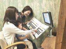 スリル ヘア アンド ネイル デザイン 恵比寿店(sulir hair and nail design)の雰囲気(お子様同伴可。DVDも見れる個室あります。)