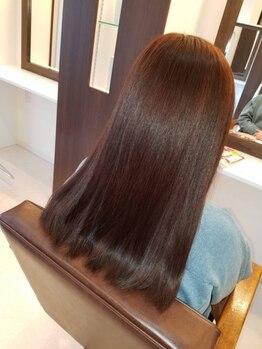 ミグシー(migcy)の写真/【COTAトリートメント導入サロン☆】髪の内側から栄養補給!髪質改善で毎朝のお手入れも楽に☆