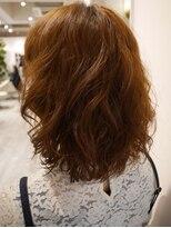 ヘアー カラー キー(HAIR color KEY)低温デジタルパーマ・ミディ