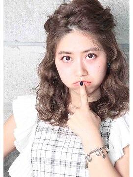ヘアサロン ガリカ 表参道(hair salon Gallica)『 ウェーブ × フィッシュボーン 』 arrange ☆
