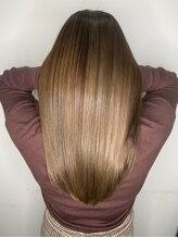 髪の毛を理想のサラツヤに髪質改善!業界初新感覚トリートメント♪