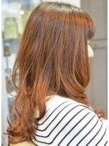 ポタム 東中野(potamu)矯正をかけた髪でも乾かすだけで巻き髪風になる楽チンパーマ