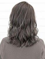 オーブ ヘアー ニコラ 大橋店(AUBE HAIR nicola)【AUBE HAIR】フォギーベージュ_セミウェットミディ
