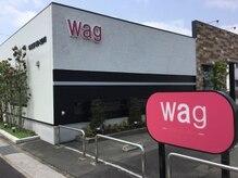 ワグ(WAG)の雰囲気(ファミマ昭和町そば♪一目でわかるサクラ色の看板が目印です!)