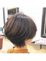エトネ ヘアーサロン 仙台駅前(eTONe hair salon)【絶壁の方にオススメ】奥行きのあるくびれショート