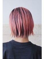 リュト(Lute)ボブ×ピンクヘア
