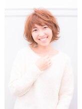 リノ ヘアー デザイン(Lino Hair Design)【Lino Hair】外国人×抜け×透け感=可愛い【佐合 外士己】