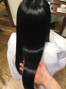 ピチカート パティオ(pizzicato patio)の写真/透明感のあるツヤ髪を求めるあなたに…。大人気『TOKIOインカラミトリートメント』で本物の美髪に◎