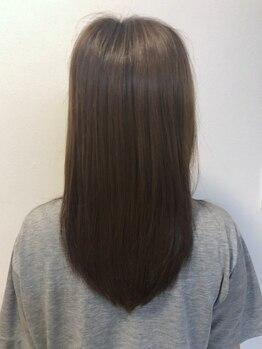 ヘアスタジオリリー(Hair studio Lily)の写真/<髪質改善>毛髪1本1本が潤いに満ちたサラツヤ髪に♪一人ひとりの髪質を見極めてオーダーメイドでご提案!