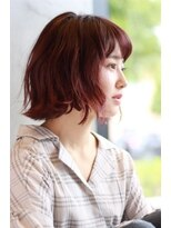 サラビューティーサイト 志免店(SARA Beauty Sight)外はねボブスタイル