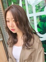 ドォート(Dote hair make)☆ふんわり夏ベージュ 巻き髪エアリーローライト☆ 林 大樹