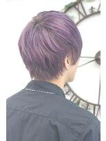 ヘアーサロン エール 原宿(hair salon ailes)(ailes 原宿)style385デザインカラー☆スモーキーピンクアッシュ