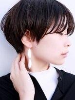 ドロップ(drop)大人のシンプル黒髪ショートヘアスタイル[表参道drop]