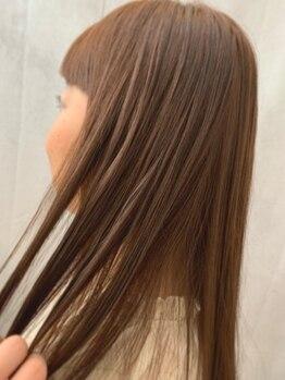 ヴィータ 田町(vi ta)の写真/【田町駅2分/三田駅30秒】豊富なトリートメント!悩みに合わせて内部補修から髪質改善まで。最高級の美髪に