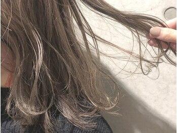 """ディプティモイラ(dipty MOILA)の写真/【究極の髪質改善】カラーリスト在籍◎ノンダメージで透明感☆ホリスティックカラーで""""修復×カラー""""を実現"""