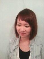 プトゥリ(Putri)すぐ伸びちゃう前髪は短く!幼くならないボブ
