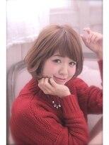 エイミーバイアフロート(amie by afloat)☆小顔ふんわりワンカールボブ☆