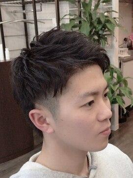 プロキシムヘアワークス(proxim hair works)メンズツーブロック