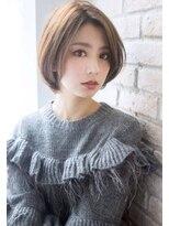 ボニークチュール(BONNY COUTURE)大人可愛いサラサラ・ストレート・ショートボブ・神戸・髪型