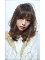 アンヘアー アリーズ(UN hair Ally's)【UNhair石富】大人かわいいセミディレイヤー/マロングレージュ