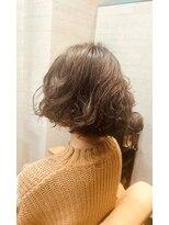 きれい髪美容所毛先ワンカールパーマヘア