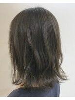 【GOOD DAY HAIR】《肩上ボブ:ロブ:シアーグレージュ》下北沢