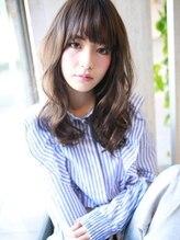 アグ ヘアー トレンチ 稲沢店(Agu hair trench)☆クールな厚めバングセミディ☆